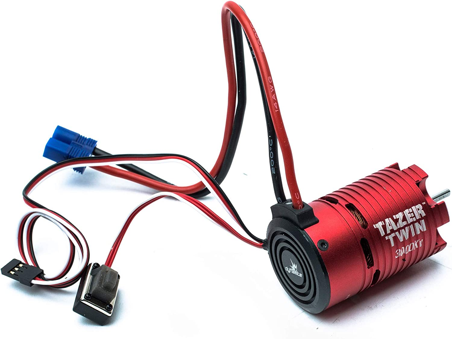 Amazon.com: Dynamite Tazer Twin 2S Brushless Motor/ESC Combo, 3000Kv: 1/10  2WD, DYNS1450: Toys & Games | Twin Engine Rc Electric Wiring |  | Amazon.com