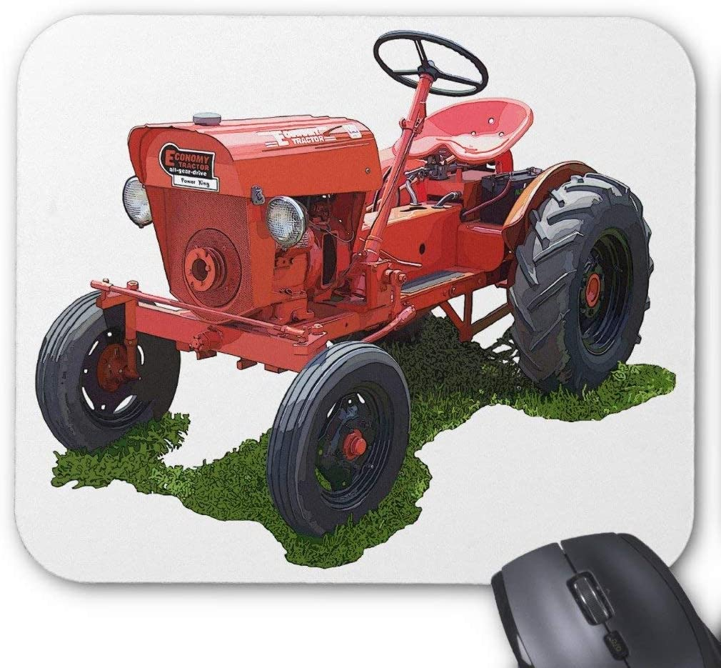 The Economy Tractor Mouse Pad 18×22 cm