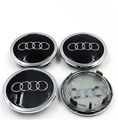 guoyuanzed 4B0601170A - Tapacubos para Audi A3 A4 A6 A8 S4 S6 RS4 RS6 (4