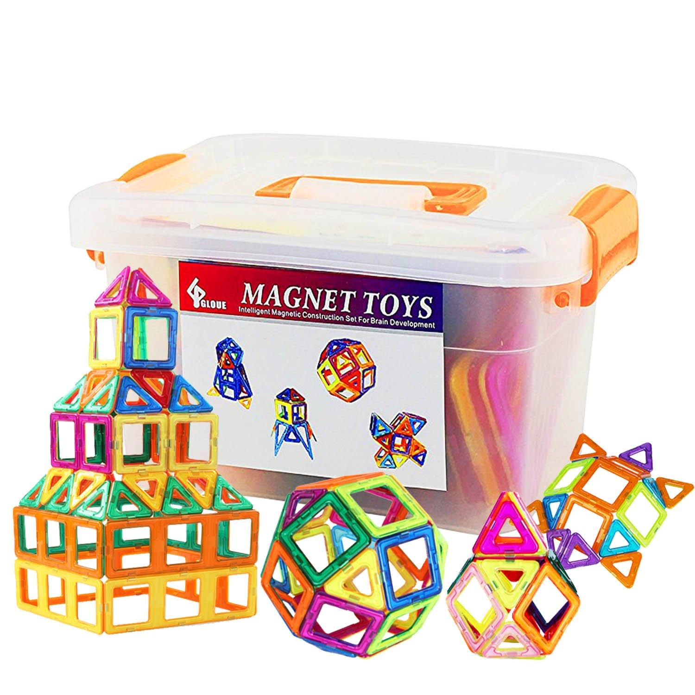 【送料無料キャンペーン?】 Gloue 64個磁気建物ブロック、正方形、三角形、大きな三角形 Gloue – デラックスBuildingセット – B01NAACMU8 B01NAACMU8, スポーツFX:2bd63b5a --- vezam.lt