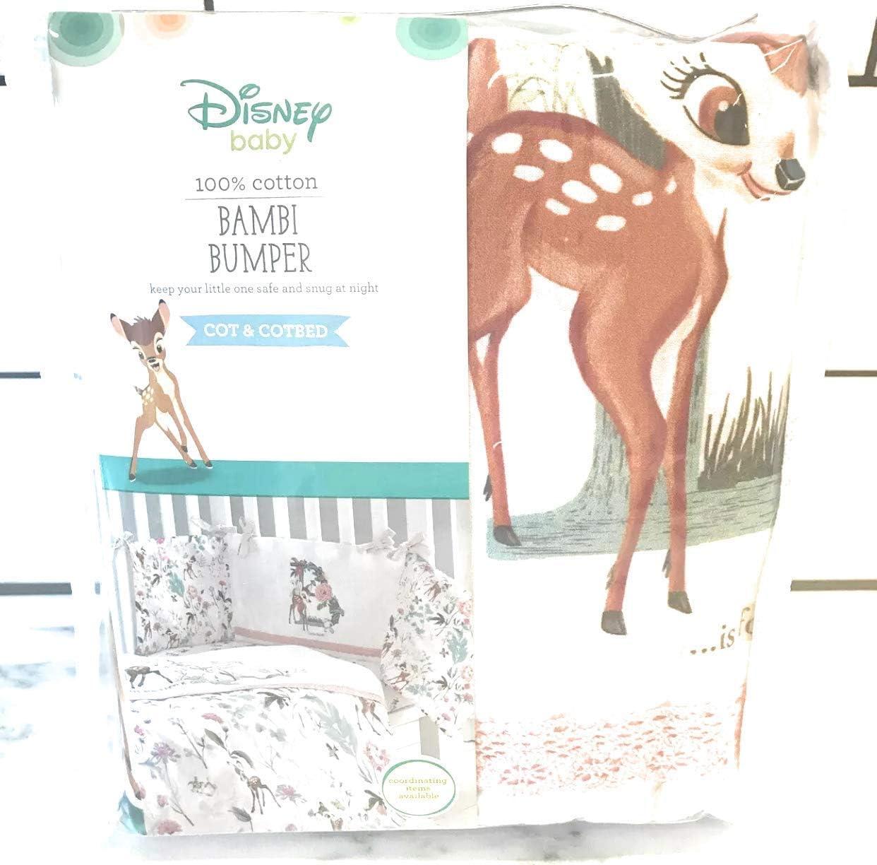 Disney Baby Bambi Tour de Lit 100/% Coton Fille
