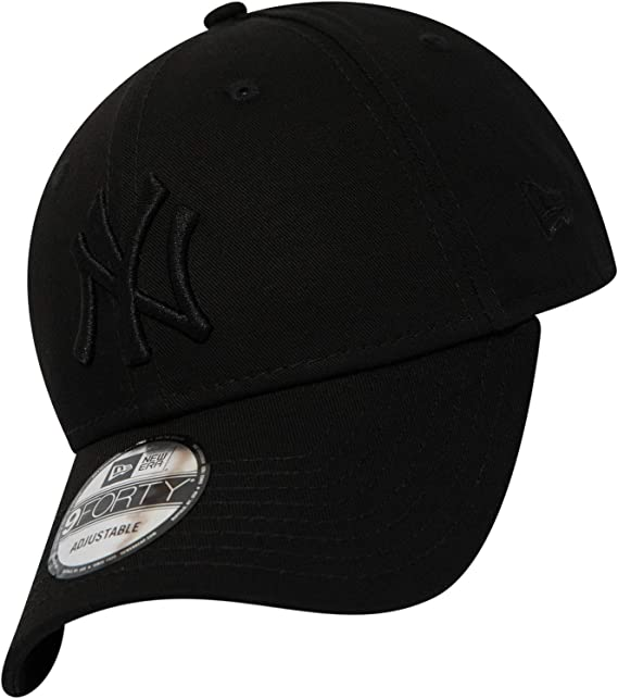 various colors ddacb 4144b New Era 9FORTY Black on Black Snapback Cap - MLB D - New York Yankees
