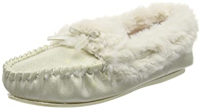 Suedemocc, Womens Low-Top Slippers Spot On
