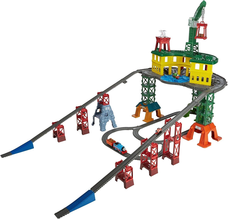 Thomas & Friends- Super estación de trenes, juguete niño, Multicolor (Mattel FGR22) , color/modelo surtido
