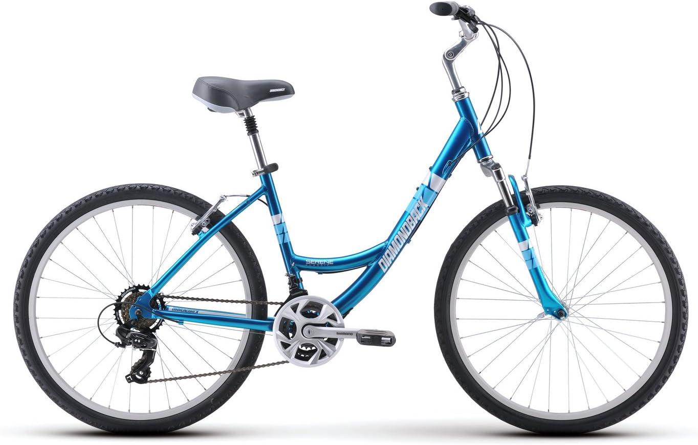 Diamondback Bicycles Serene Classic Frame Bicicleta cómoda para ...