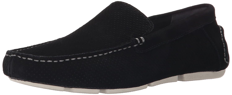 Calvin Klein Men's Miguel Perf Suede Slip-On Loafer
