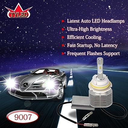 Amazon Com Tyled 30w 9007 6000k 4000lm Automobile Led Headlight