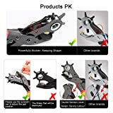 Leather Hole Punch Tool Set, Belt Hole Puncher Kit, Professional Puncher for Belt, Saddle, Watch Strap, Shoe, Leather, Fabric, Paper, Eyelet, Craft Projects, Easily Punches Perfect Round Holes