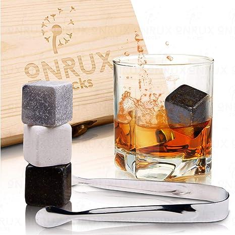 Amazon.com: Piedras de granito para whisky – Set de regalo ...