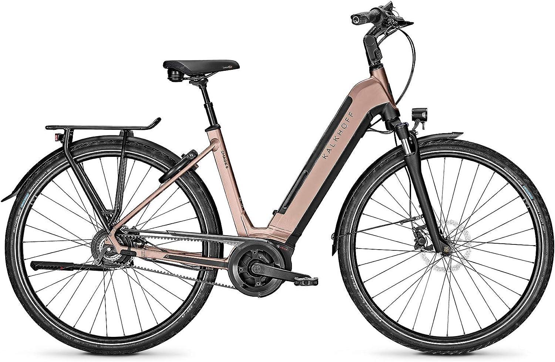 Kalkhoff Image 5.B Excite Bosch 2020 - Bicicleta eléctrica, Color marrón y Negro