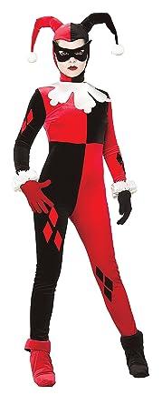 Amazon Com Gotham Girls Dc Comics Harley Quinn Adult Costume