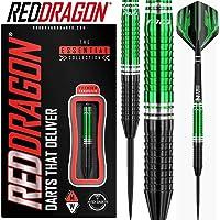 Red Dragon Razor Edge ZX-2-85% Tungsten Steel Darts with Flights, Shafts, Wallet & Red Dragon Checkout Card