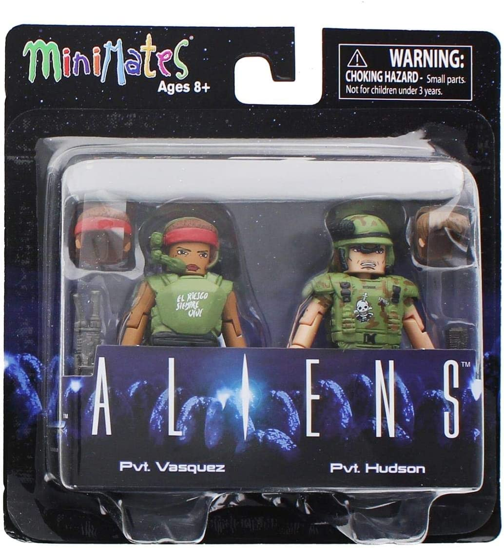 Alien Aliens Minimates Series 2 Pvt. Vasquez & Pvt. Hudson 2 ...