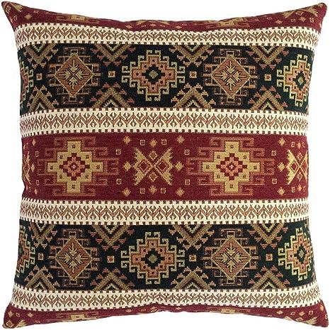 Turkish Kilim Pillow 16x16 Kilim Pillow Home Decor Old Vintage Kilim Cushion Cover Aztec Kilim Pillow Cover Boho Sham Cover Beeding