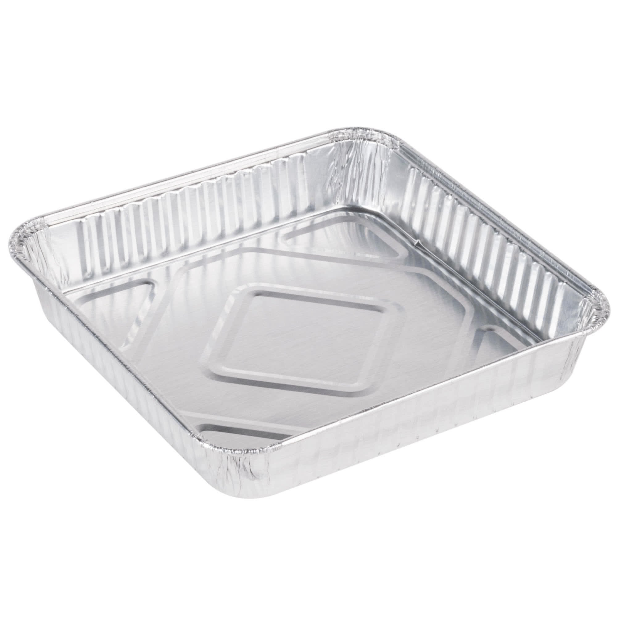 "Details about Pack of 30 Extra-Thick Disposable Aluminum Baking Pans |  Standard Size 8"" x"