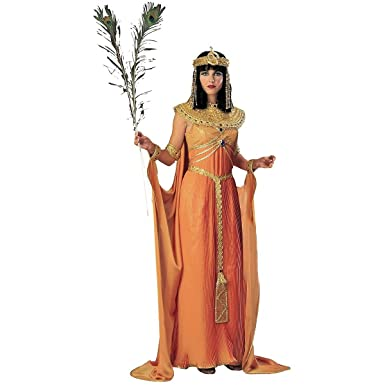 Adult Super Deluxe Cleopatra Costume - Womens Small  sc 1 st  Amazon.com & Amazon.com: Adult Super Deluxe Cleopatra Costume: Clothing