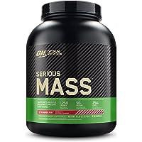 Optimum Nutrition ON Serious Mass Hoogcalorisch Gewicht Gainer Proteïnepoeder met Koolhydraten, Wei-eiwitten, Vitaminen…