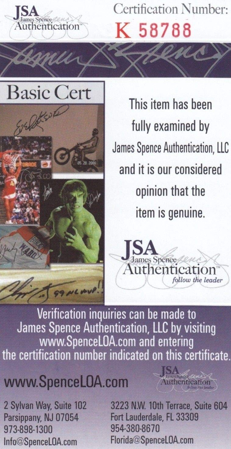 1db4c6c25 Chuck Noll Cleveland Browns  0 8x10 Autographed Signed Memorabilia - JSA  Authentic at Amazon s Sports Collectibles Store