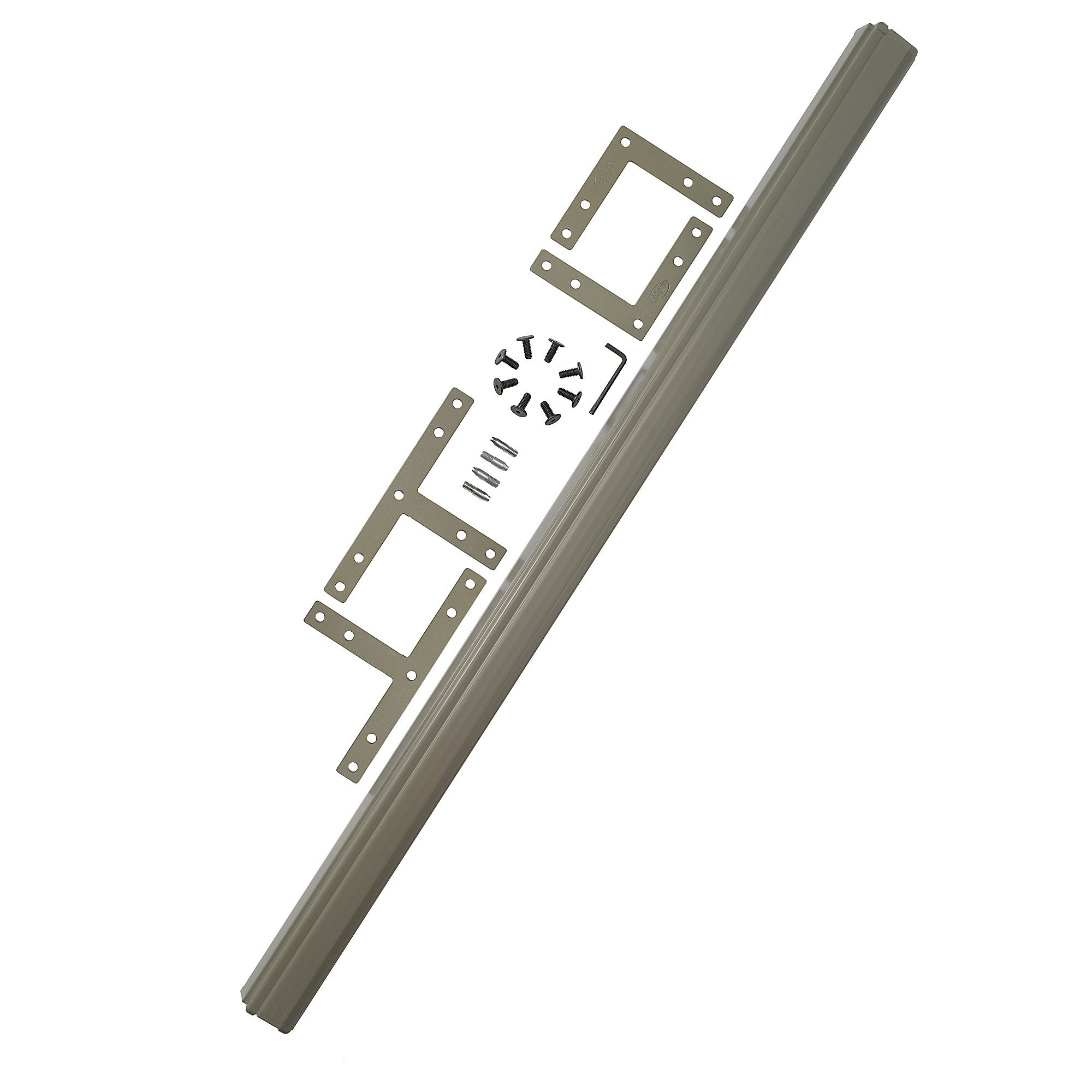 Bush Business Furniture ProPanels - 2 way or 3 way Connector (for 66H Panels) in Taupe by Bush Business Furniture