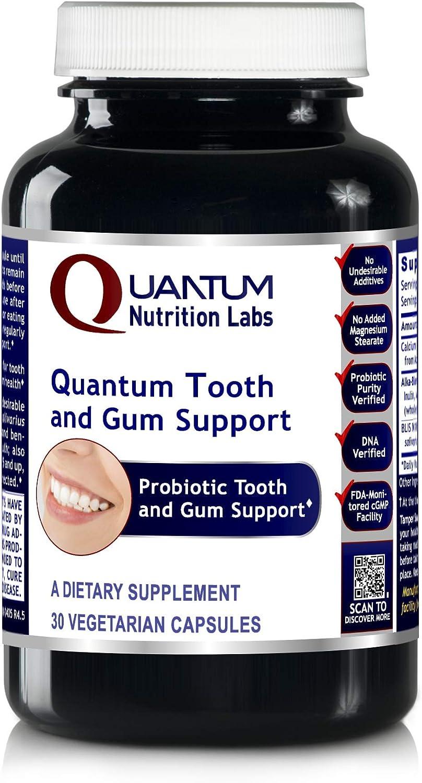 Quantum Tooth & Gum Support, 30 Capsules - Probiotic Dental and Gum Formula for Quantum-State Tooth and Gum Support