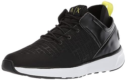 Amazon.com  A X Armani Exchange Men s Lace Up Sneaker  Shoes b8383139a25