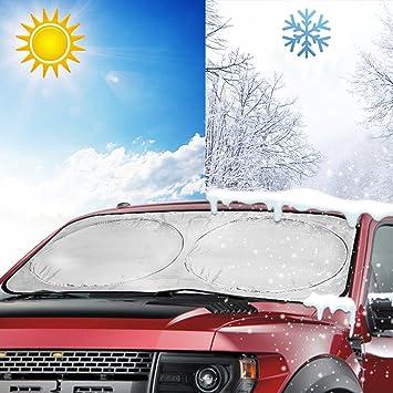 Car Sun Visor UV Block Foldable Windshield 150 x 70 cm Sun Shield Cover Portable