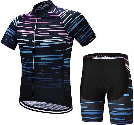 Amazon.com: fualrny para hombres verano manga corta ciclismo ...