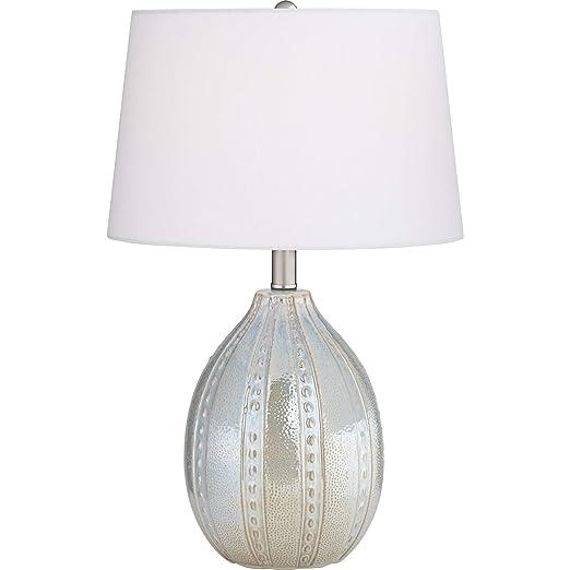 Amazon.com: Elsa Pearlescent - Lámpara de mesa (cerámica, 1 ...