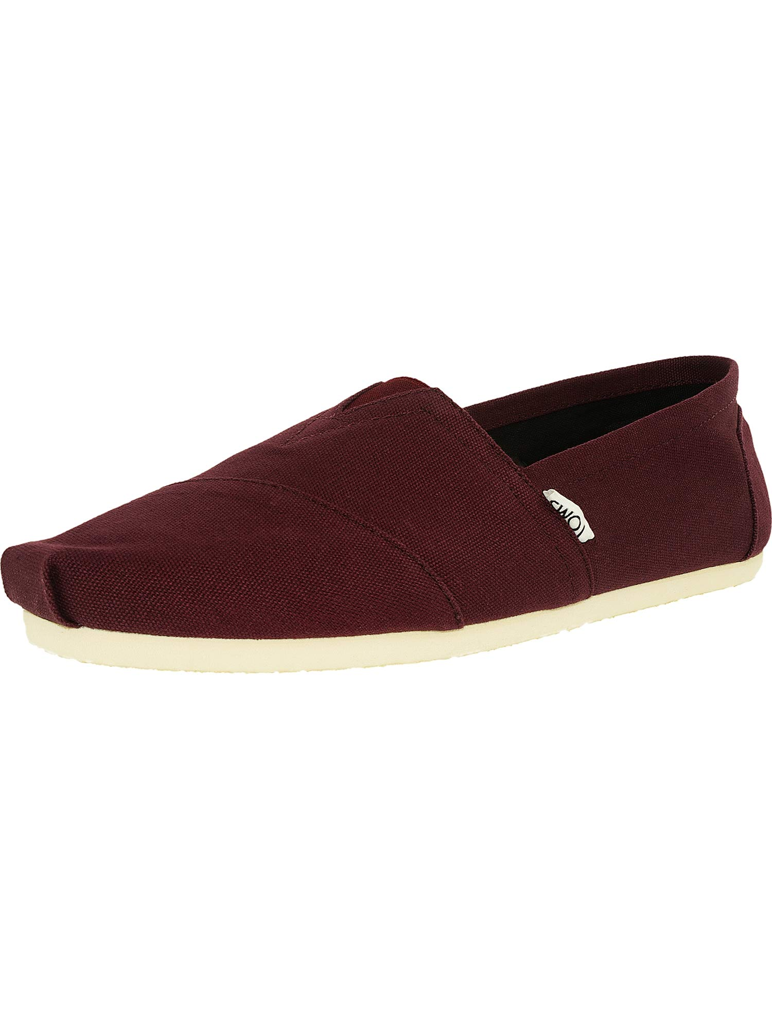 TOMS Men's Classic Canvas Slip-On, Red Mahogany Canvas - 11.5 D(M) US by TOMS (Image #1)