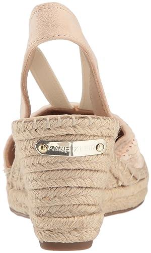 78193b5de95 Anne Klein Women's Abbey Fabric Espadrille Wedge Sandal