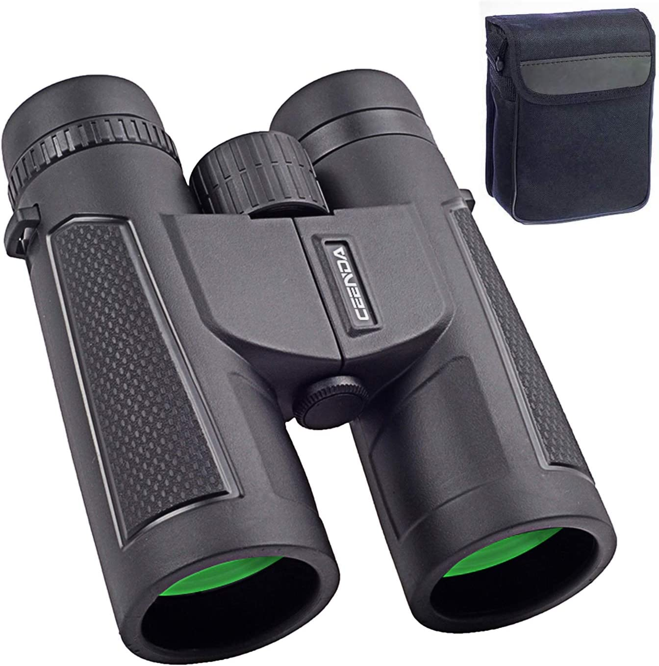 Home HD Binoculars, 12x42 Binoculars for Adults and Kids, Binoculars for Hunting, Binoculars for Bird Watching Travel Concerts Sports Stargazing and Planets-Large Lens BAK4 Prism FMC-with Phone Mount
