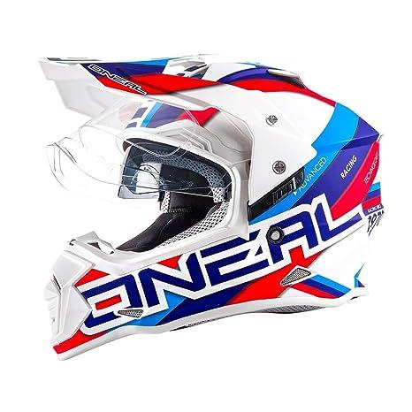 Oneal Sierra – Casco de motocross II Circuit Cross Enduro Offroad Quad ATV MX SX Casco
