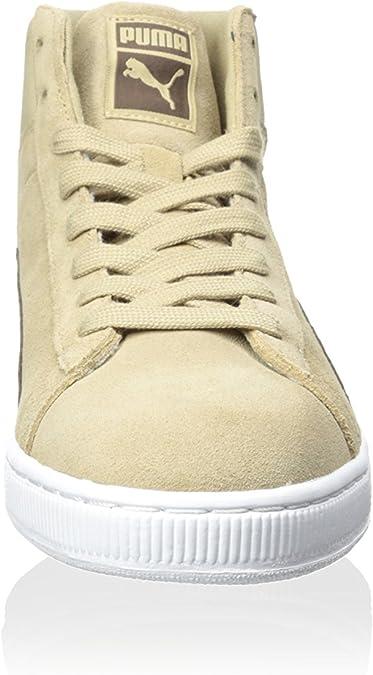 PUMA Men's Suede Mid Classic Nat Calm 2 CornstalkCarafe Sneaker 7.5 D (M)