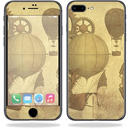 MightySkins Skin for Apple iPhone 8 Plus - Steam Punk Paper | Protective,  Durable, and Unique Vinyl Decal wrap Cover | Easy to Apply, Remove, and