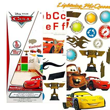 Disney Cars Wall Stickers 125 Removable Wall Decals