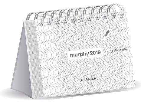 Amazon.com : Granica GB00112 - Murphy 2019 Desk Calendar ...