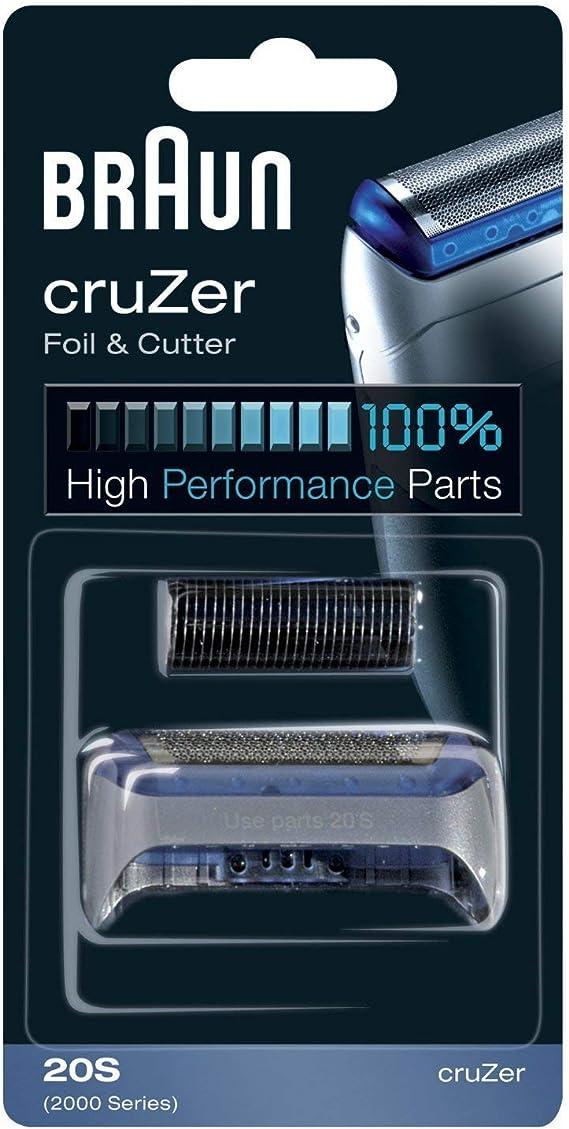 Braun CruZer Foil Cutter Head Pack for Series 2000 Electric ...