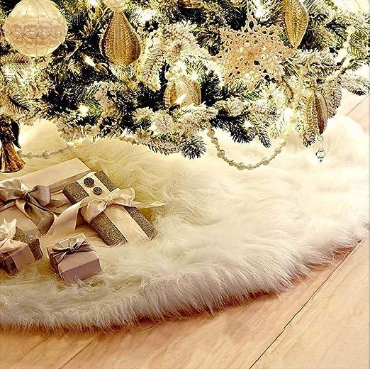 Falda de Arbol de Navidad Decoración de la Cubierta de la Base de ...