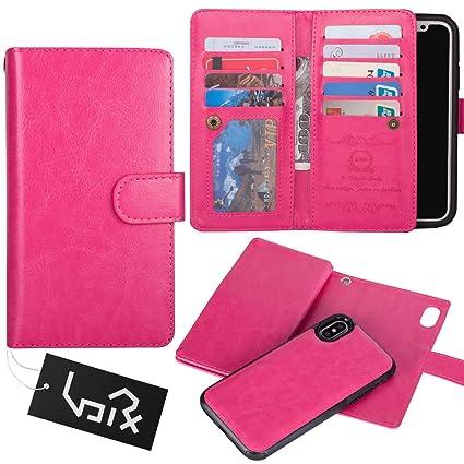 finest selection 86ce2 9ce49 Amazon.com: for iPhone X case/iPhone Xs Wallet Case, Urvoix Leather ...