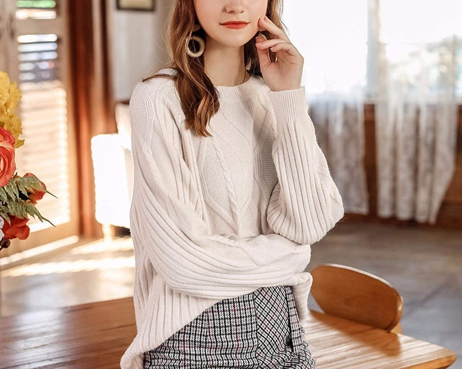 Barry-Home sweater 2018 Autumn Winter Thick Pullovers Women Long Sleeve Casual Warm O Neck