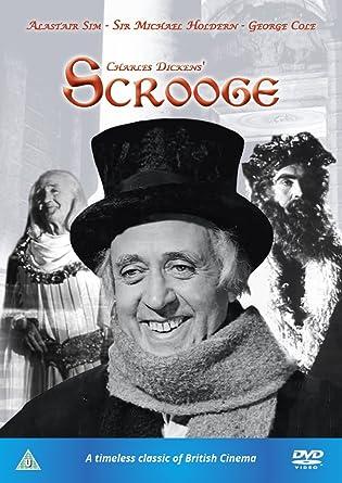 Charles Dickens' Scrooge [DVD] [1951]: Amazon.co.uk: Alastair Sim ...