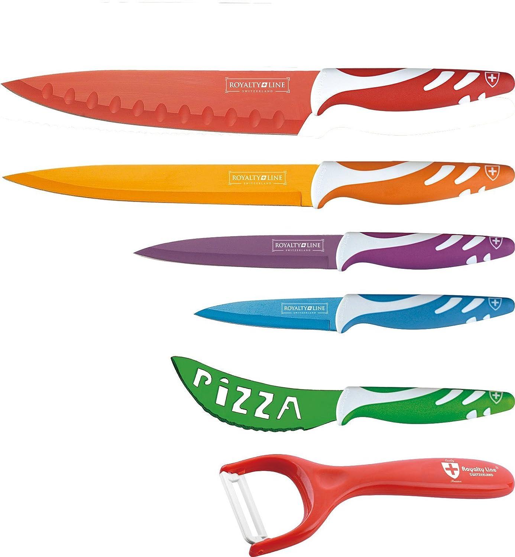 Compra ROYALTY LINE - CONJUNTO 6 piezas - 5 cuchillos + ...