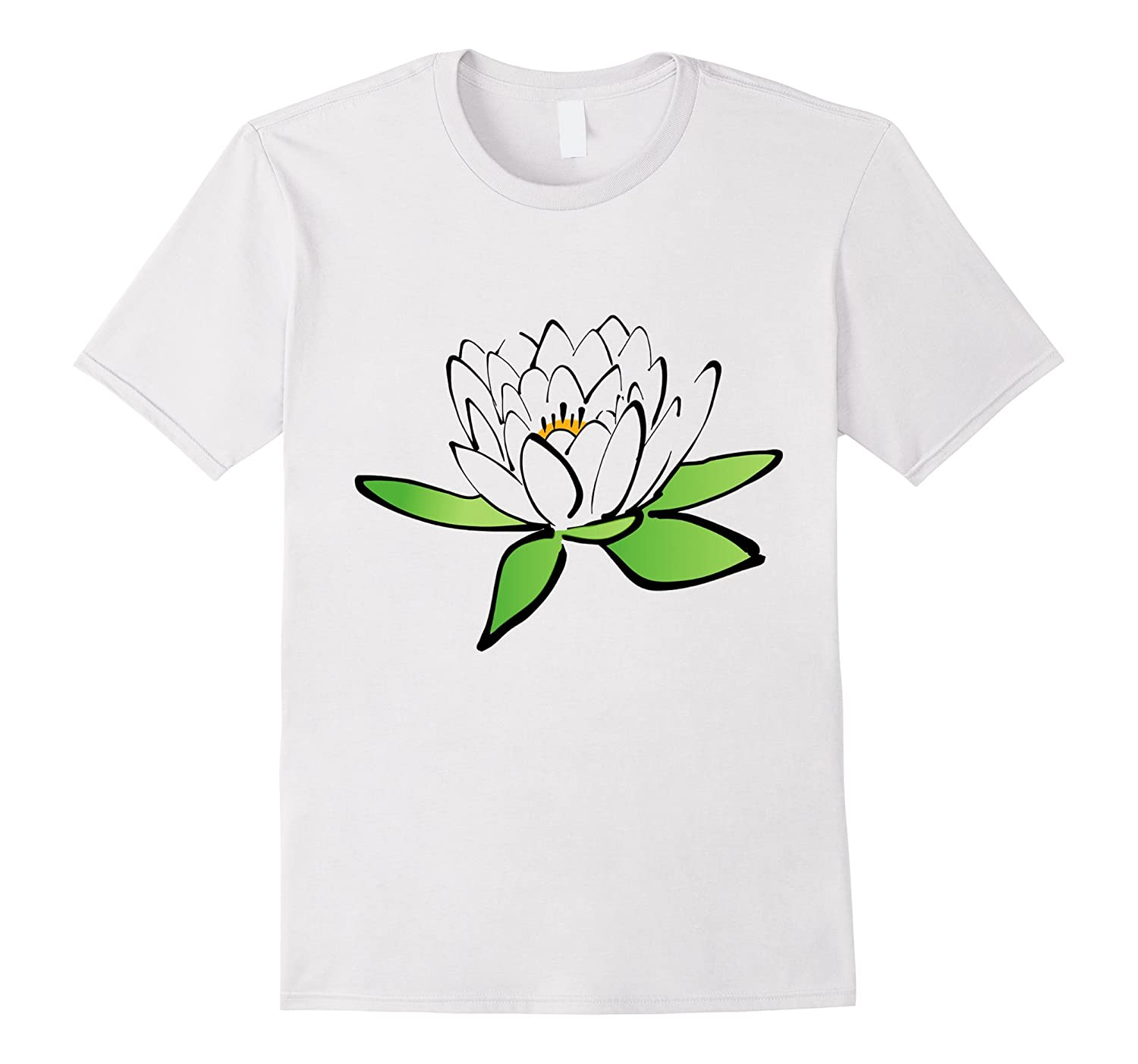 Pretty Lotus Flower T Shirt Delicate Flower Buddhist Symbol Fl