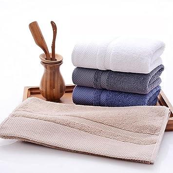 honeyjoy suave – Juego de toallas de mano (blanco gris azul Caqui, 13.38 X