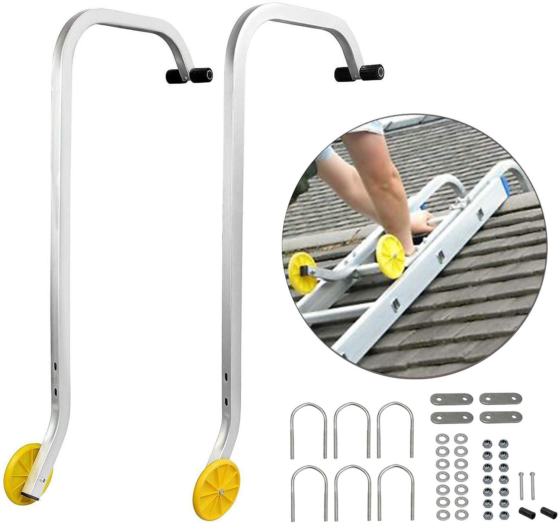 Qualcraft 2481 Ladder Hook with Wheel One Hook