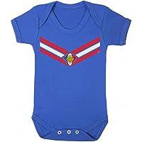 buzz shirts Baby France Team Emblem Boys or Girls Football Babygrow World Cup 2018 Retro Sports
