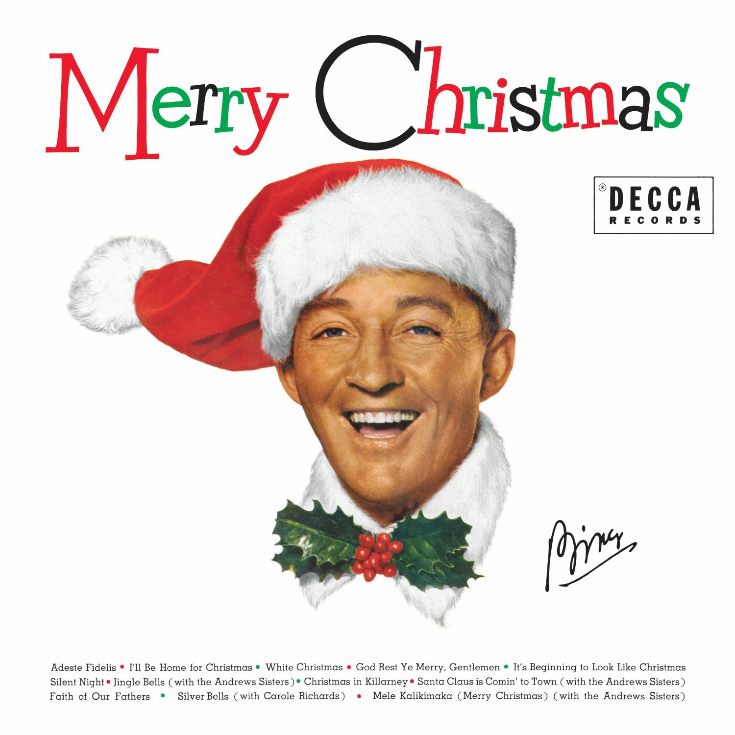 Bing Crosby Christmas.Merry Christmas