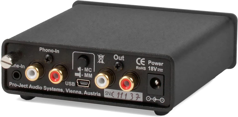 Pro Ject Phono Box Usb Vorverstärker Silber Audio Hifi