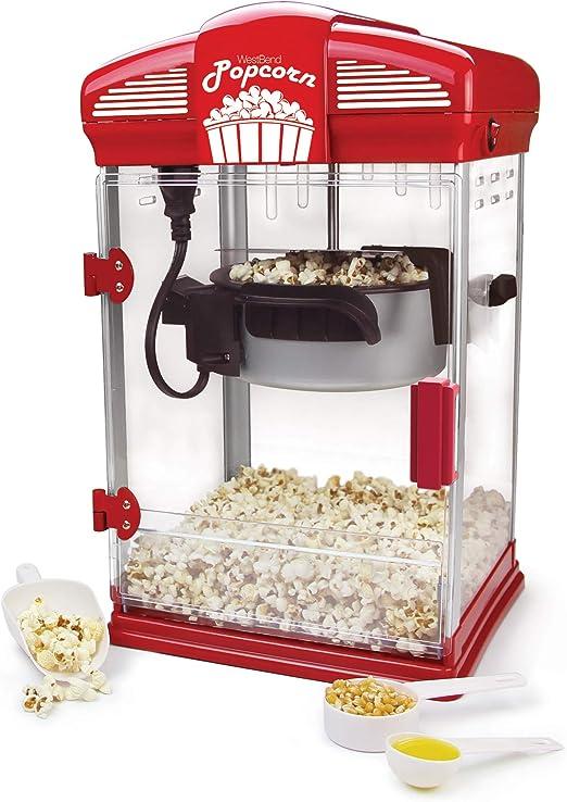 Amazon.com: Máquina de palomitas de maíz de ...