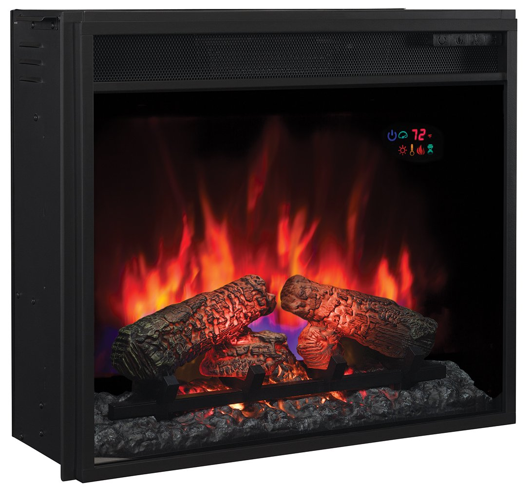 New classic flame electric fireplace inserts make an existing chimney - Amazon Com Classicflame 23ef031grp 23 Electric Fireplace Insert With Safer Plug Home Kitchen